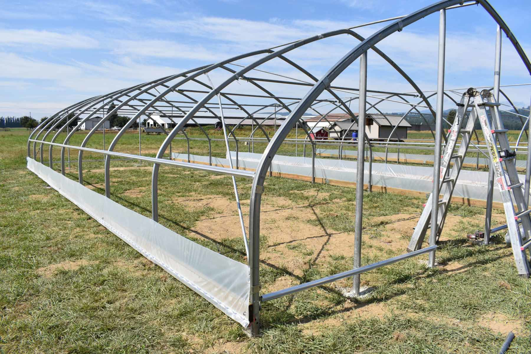 20\' Wide Greenhouse Projects - Goodwin\'s Greenhouses